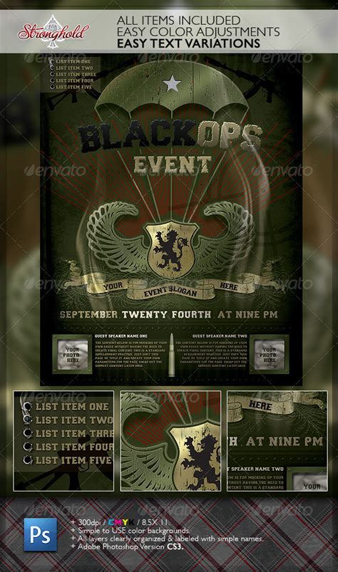 military templates for photoshop military flyer template free 187 dondrup com