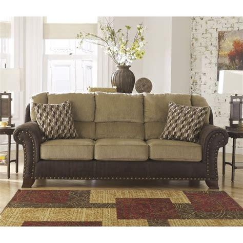ashley fabric sofa ashley vandive fabric sofa in sand 4430038