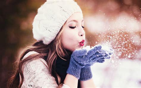 wallpaper girl winter winter girl hd wallpapers