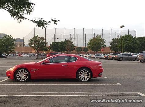 maserati of new jersey maserati granturismo spotted in edgewater new jersey on