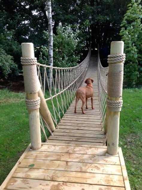 Treehouse Life constructing a Rope Bridge   Craftsman