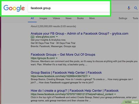 membuat facebook private cara membuat grup di facebook wikihow