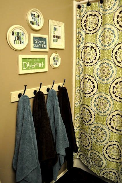 1000 ideas about hanging bath towels on