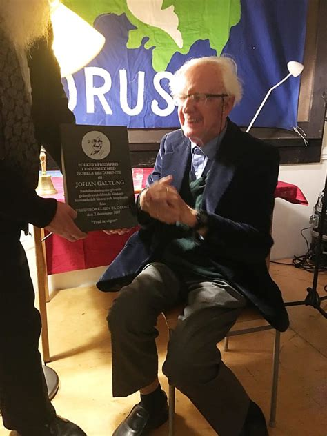 Galtung Johan Essays In Peace Research by Sweden Johan Galtung Receives The S Nobel Prize Alternative