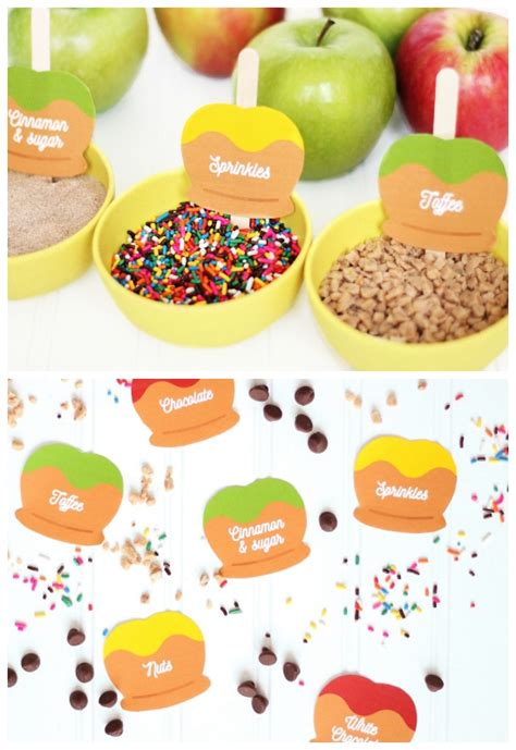 caramel apple bar toppings caramel apple party date night the dating divas