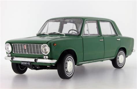 lada anni 70 ist models 1970 fiat 124 green ist18001fi in 1 18