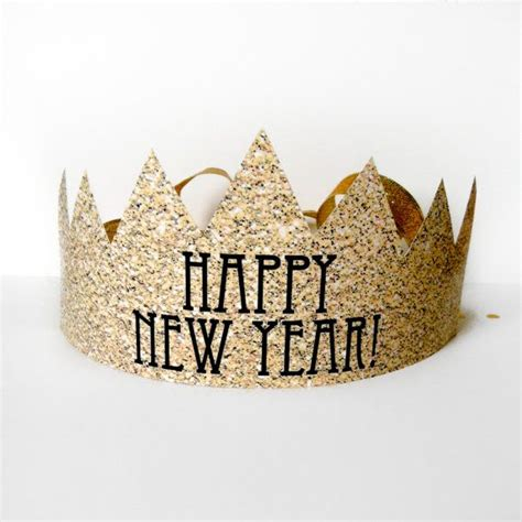 printable new year s crown 13 stunning new year s party printables and diy ideas