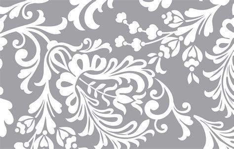 elegant wallpaper pattern black and white belle pat lrg jpg the print is a white floral spray