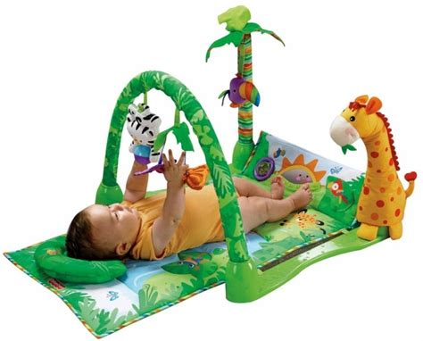 Crib Play Toys by Fisher Price Rainforest 1 2 3 Musical Rainforest 1 2