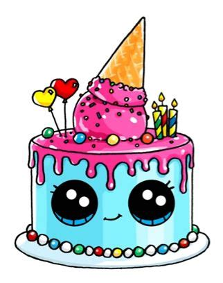 cake doodle ideas pictures birthday drawings drawing gallery