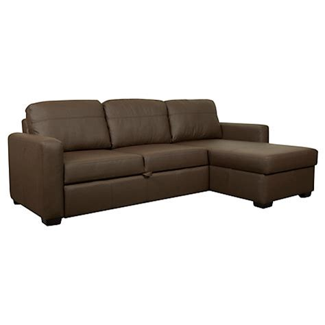 Leather Sofa Bed Lewis by Buy Lewis Sacha Large Leather Sofa Bed With Foam