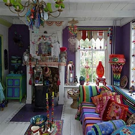 cheap bohemian home decor indian sari cushions paired with colourful south american