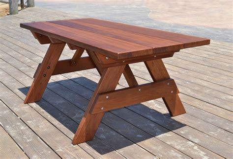 wood picnic table kit large wooden picnic table custom wood picnic table kit