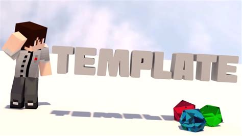 minecraft intro template blender 8 topfreeintro com