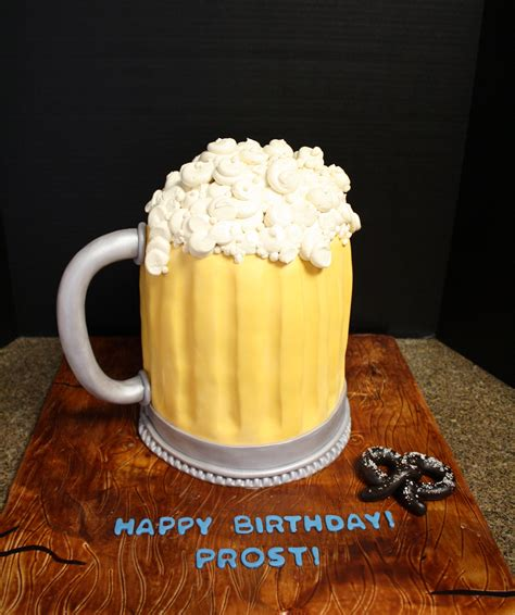 beer mug cakes decoration ideas  birthday cakes