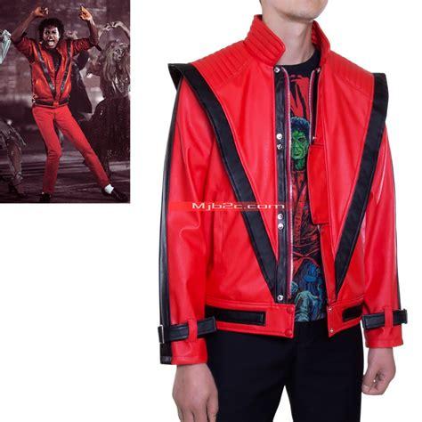 michael jackson costume jacket thriller clothing leather
