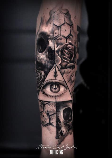 eye tattoo murderer rose tatouage