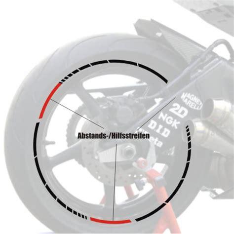 Felgenrandaufkleber Wunschtext by Motorradaufkleber Bikedekore Wheelskinzz