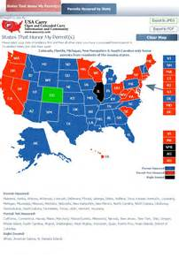 colorado ccw reciprocity map concealed carry shall issue vs may issue gun will
