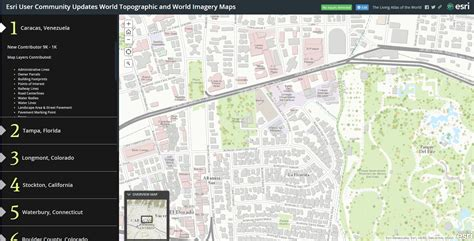 esri story maps esri user community updates world topographic and world imagery maps arcgis
