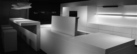 Corian Interior Design Futuristic Kitchen Design By Eggersmann Digsdigs