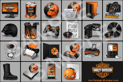 Harley Davidson Icon by Auto Hair Inspired Harley Davidson Icon