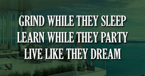 Biography And Quotes 50 1 Motivator Dunia Agustina Soebachman grind while they sleep learn while they live like they motivation quotes quote