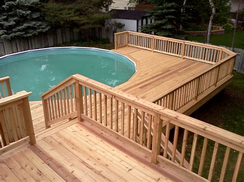 wood pool deck pool deck wood exle fairfax county virginia pool