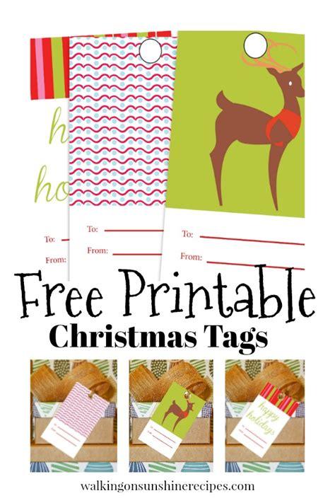 free printable christmas gift tags on pinterest holidays free printable christmas gift tags walking on
