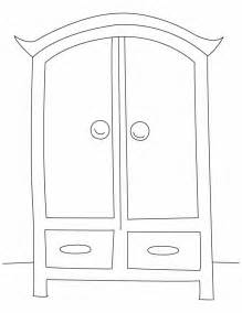free coloring pages of wardrobe