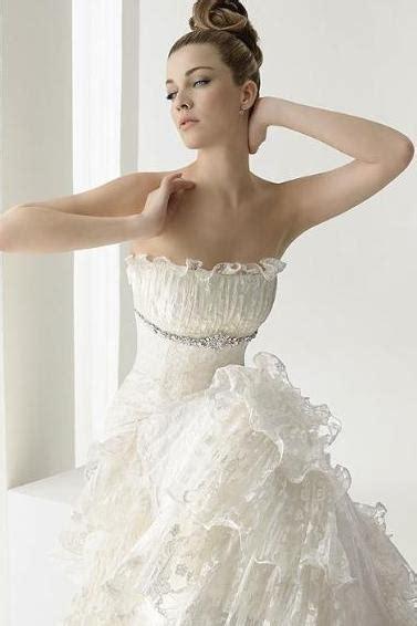 imagenes de vestidos de novia con olanes vestidos de novia olanes