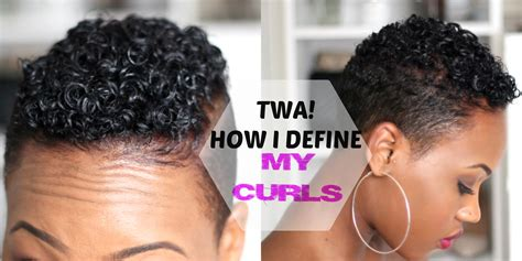 How to Define Your CURLS! Tapered TWA Short Natural Hair