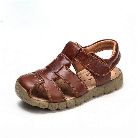 soft leather sandals 2016 new 4 designs boys soft leather sandals baby boys