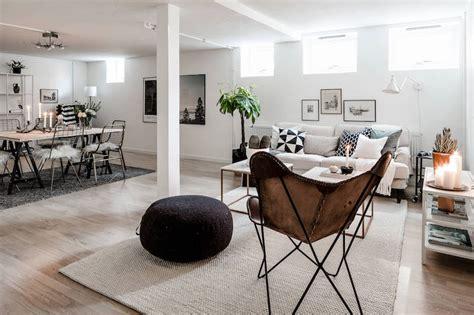 Industrial Floor Plan clean scandinavian interior design style