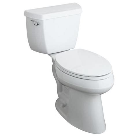 Toilet Bidet Kohler Wellworth R Elongated Toilet With 12 Quot In Left
