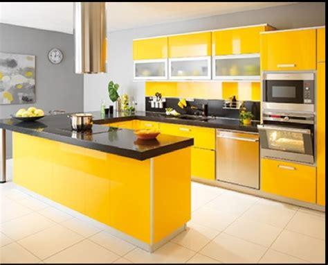 meuble cuisine jaune meuble de cuisine jaune et blanc