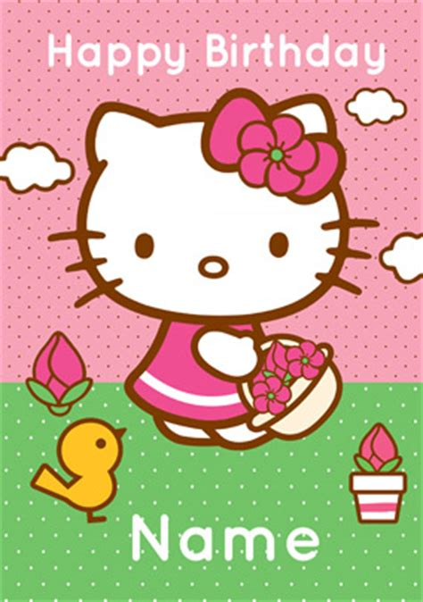 printable birthday cards hello kitty free hello kitty birthday card gangcraft net