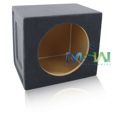 Box Woofer 12 Quot Sealed Mdf Car Audio Speaker Box Sub Woofer