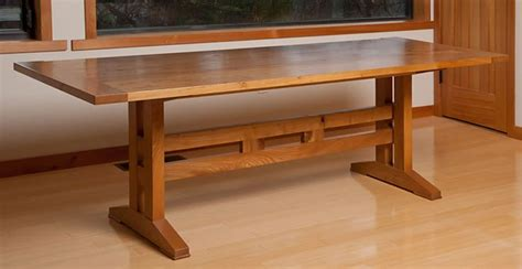 craftsman style dining room table 88 best images about dining tables on pinterest pedestal