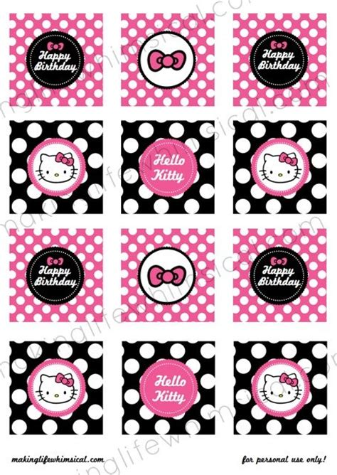 hello cupcake topper template hello cupcake toppers printable instant