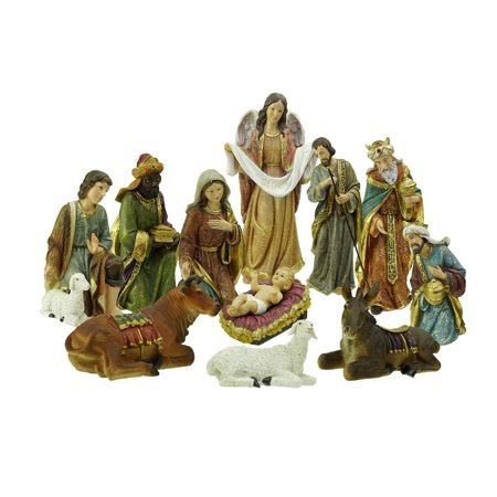 3 piece holy family christmas outdoor set 11 holy family and three inspirational religious nativity set walmart