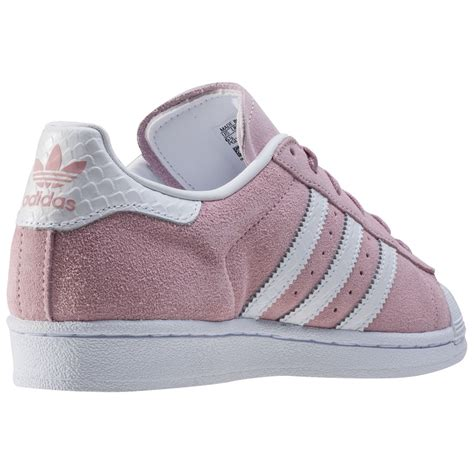 adidas superstar w womens trainers in blush pink