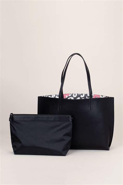 Esprit Shopper Pocket New esprit small bags in black lyst