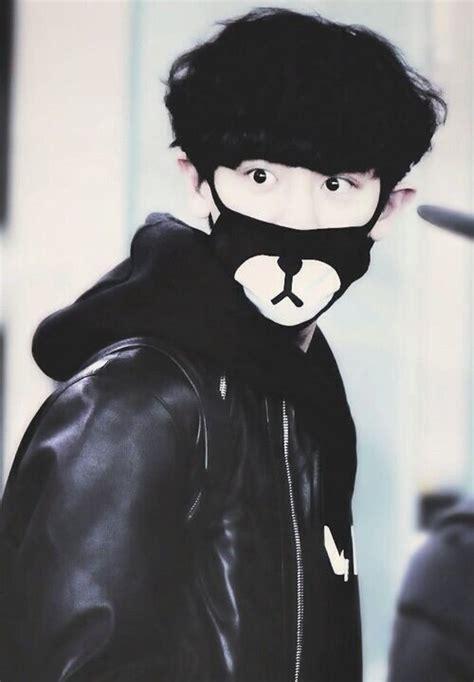 Masker Kpop Masker Rilakuma Chanyeol who wore the mask better k pop amino