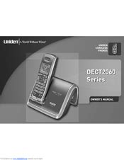 Uniden Dect2060 2 Dect Cordless Phone Manuals