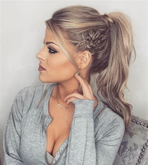 dressy ponytail hairstyles 40 updos for long hair easy and cute updos for 2018