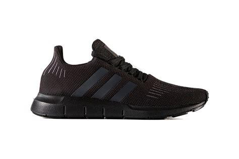 adidas runner mens shoes all black 8 5 ebay