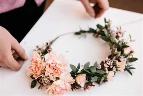 Fresh Flower Crown These 50 Diy Flower Crowns Will Make All Your Tales