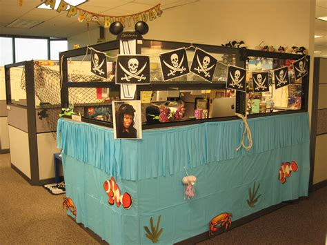 halloween themes for the office pirate theme office birthdays pinterest pirate theme