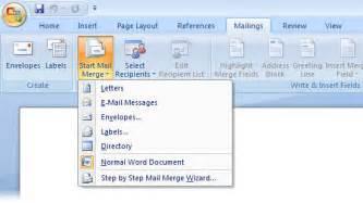 gcse bitesize mail merge